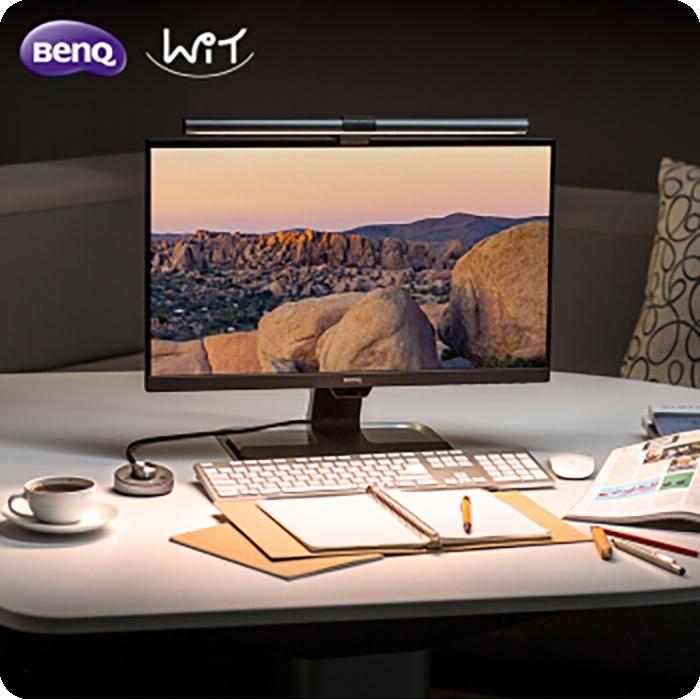 【视频】BenQ ScreenBar Plus e-Reading lamp试用
