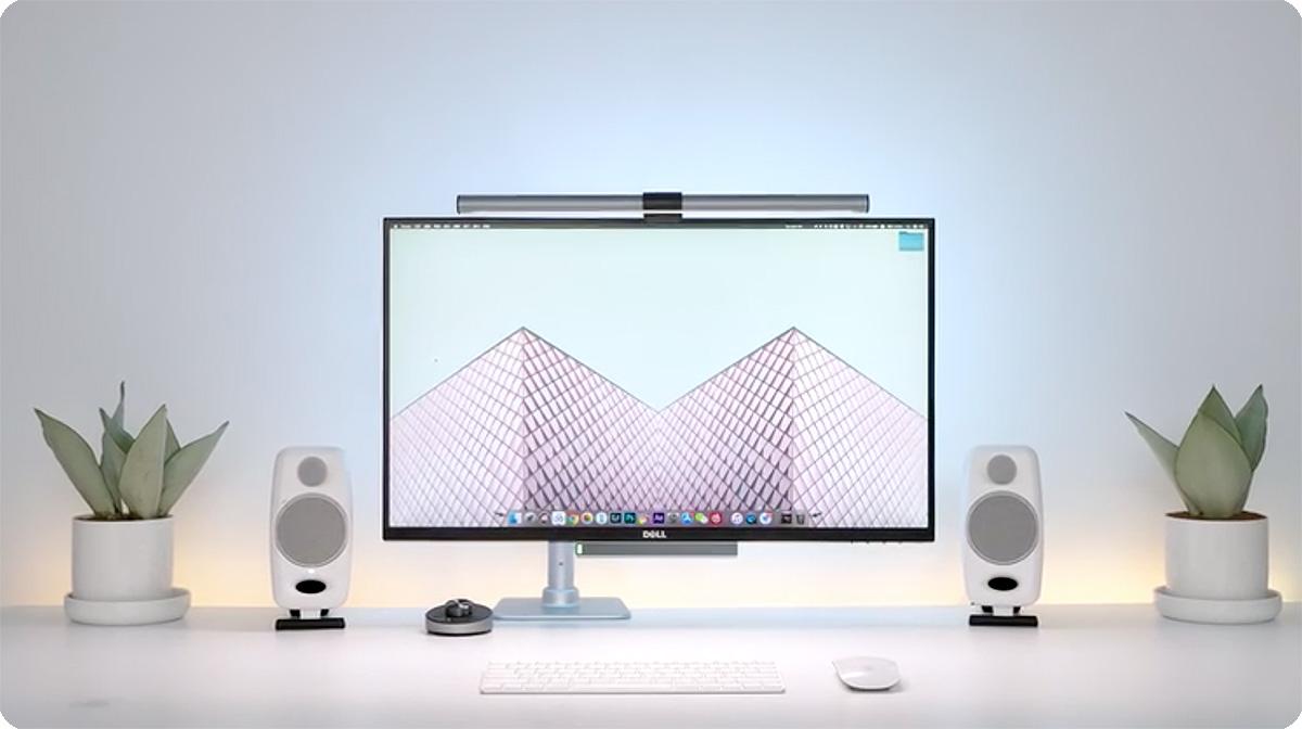【视频】工作桌面2.0【出租屋极简桌面实惠装】