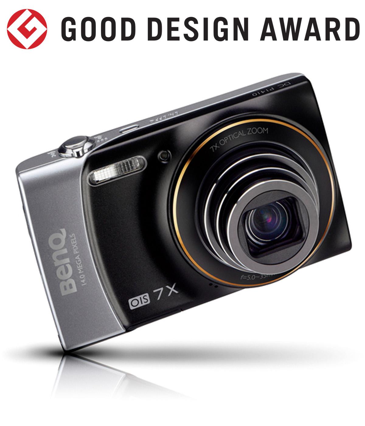 【日本】明基BenQ数码相机P1410获颁2011年度G-Mark设计大奖(GOOD DESIGN AWARD 2011)