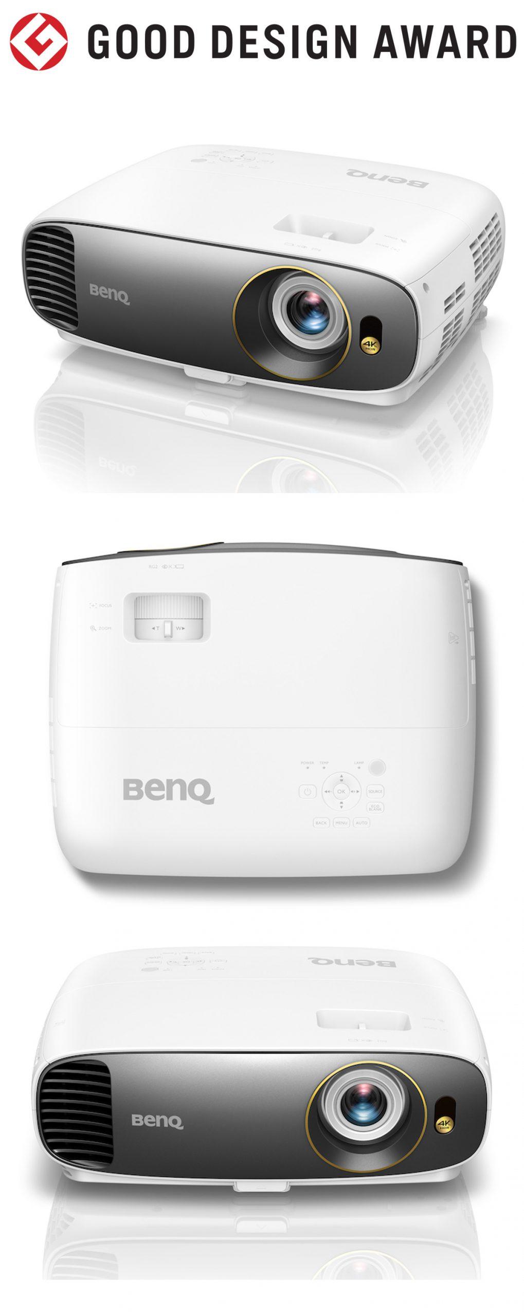 【日本】明基BenQ W1700 4KHDR家用投影机获颁2018年度G-Mark设计大奖(GOOD DESIGN AWARD 2018)