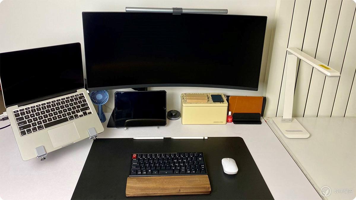 一束光的艺术:数字桌面照明改造