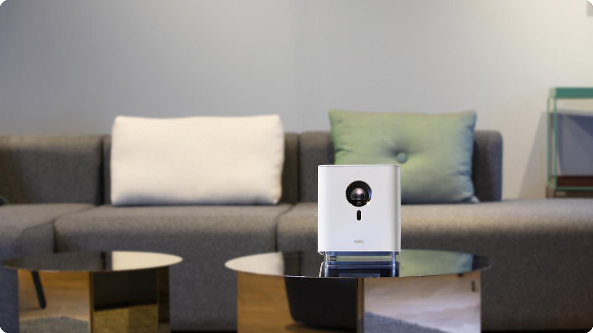 方寸,藏在宅邸的白色浪漫——明基智能4K居家美学投影机GK100美意上市