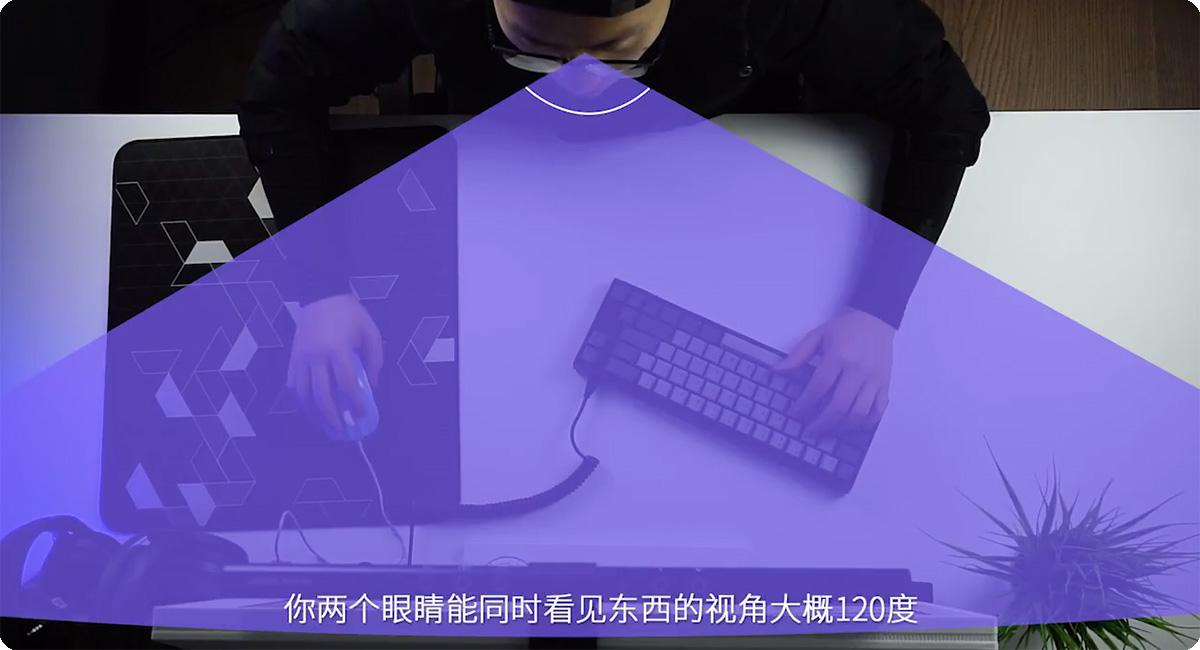 【科普】游戏玩一会就累?你的显示器可能太太大啦
