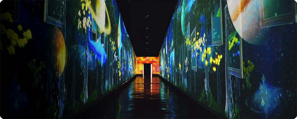 【韩国丽水艺术乐园】用光影画笔勾勒平行世界的梦幻风景
