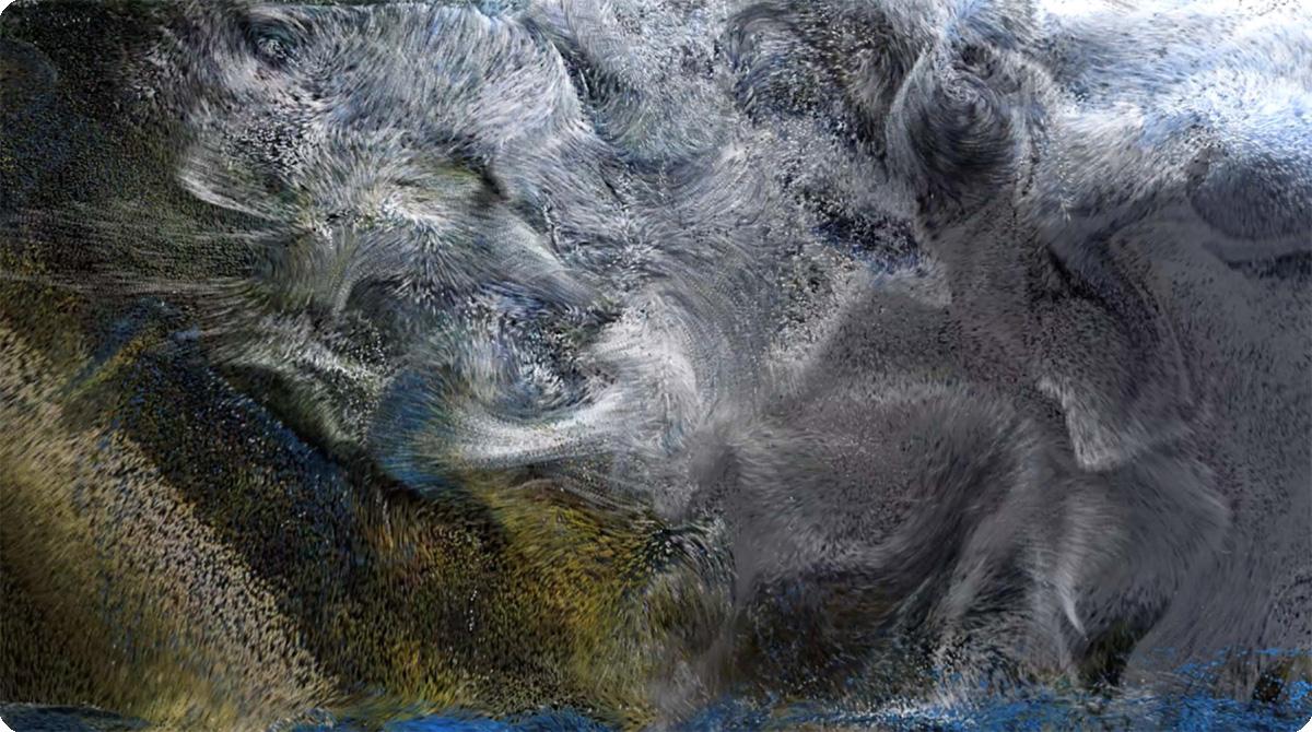 连接非物质与再物质,明基投影机展现计算机艺术美学简史