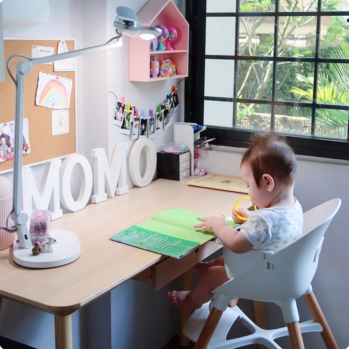 #母婴好物大赏# 明基MindDuo护眼台灯使用分享