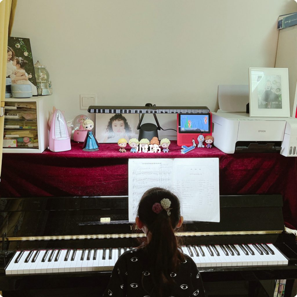 ❤️颜值与实力的较量|这款钢琴灯 我爱了