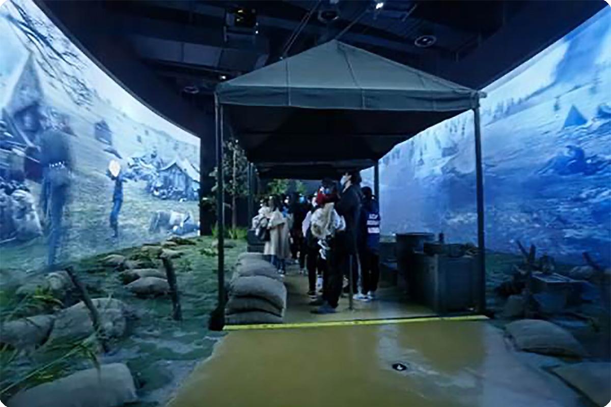 """""""重现""""金戈铁马,明基激光投影助力江阴马文化博物馆体验升级"""