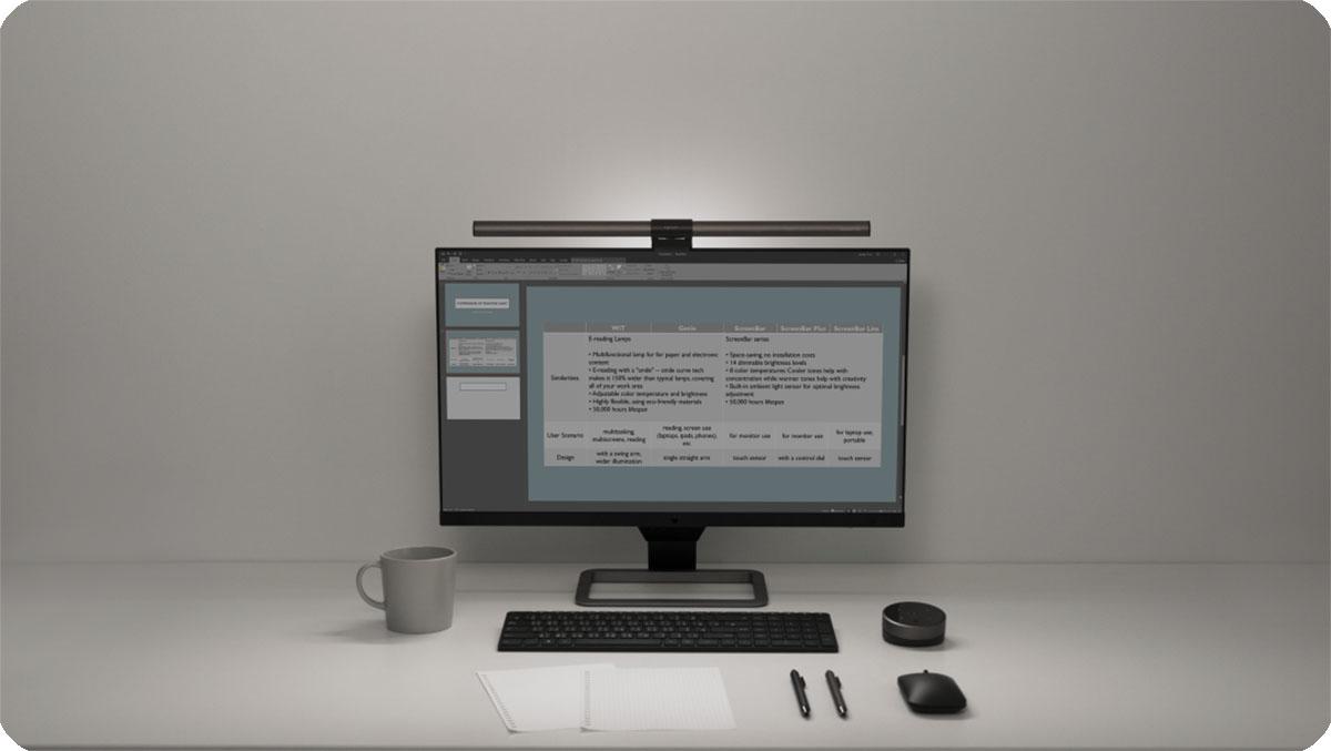 ScreenBar Halo新品发布:一盏具有未来感的灯是什么样的